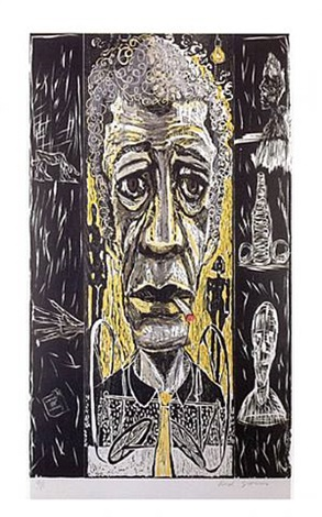 giacometti by red grooms