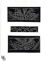 black ornament from the pasiphaé suite by henri matisse