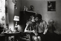 inside kathy's apartment by danny lyon