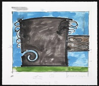 untitled april 2, 2008 2 by carroll dunham