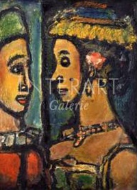 duo by georges rouault