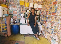 untitled (from interior series) by zwelethu mthethwa