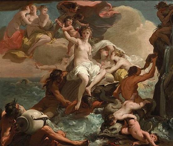 il trionfo di venere by gaetano gandolfi