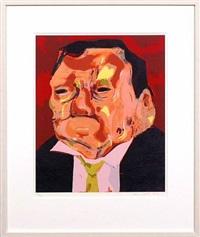 untitled (poisoned man) by dana schutz