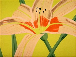 day lily ii by alex katz