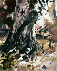 burled oak by andrew wyeth