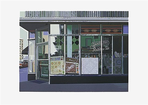 "danbury tile, aus portfolio ""urban landscape i by richard estes"