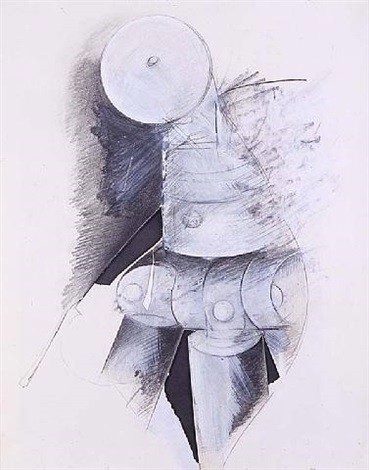 untitled (tripod) by jay defeo