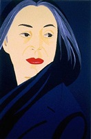 black scarf by alex katz