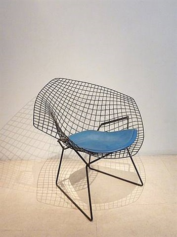 fauteuil diamant by harry bertoia