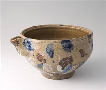 pourer, hakeme brushwork by shoji hamada