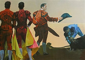 corrida in ronda no. 6 by eric fischl