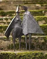 winged figures ii by lynn chadwick
