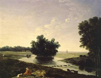 on hounslow heath by richard wilson