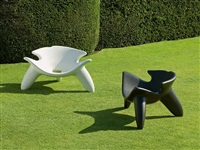 concrete chairs by wendell castle