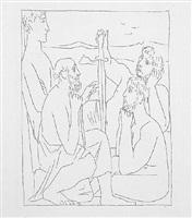 les métamorphoses d'ovide - récits de nestor sur la guerre de troie by pablo picasso