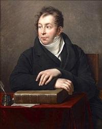 portrait of jacques maximilien benjamin bins, comte de saint-victor by anne-louis girodet de roucy-trioson