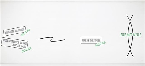 lawrence weiner by lawrence weiner
