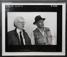 beuys und warhol (new york 1979, 3 motive) by joseph beuys