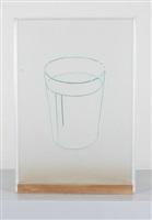 glas (lichtzeichnung) by hugo suter