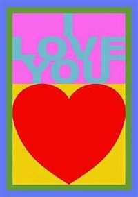 i love you by peter blake