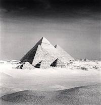 giza pyramid, study 6, cairo by michael kenna