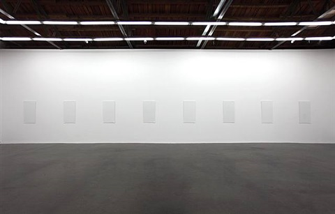 blank paper series exhibition view by liu jianhua
