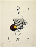 do-nut and mug by claes oldenburg