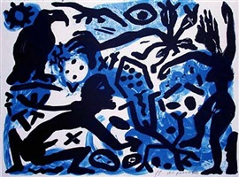 situation now, night by a.r. penck