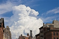 highline view, big sky series by barbara alper