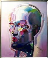neo head by peter max