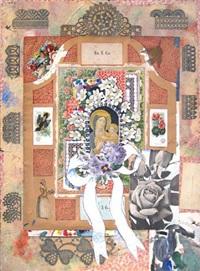 madonna with flowers iv by joe brainard