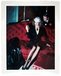 in y.s.l. salon, av. marceau, paris by helmut newton