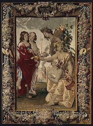 ein paar tapisserien ii by jan van den hecke