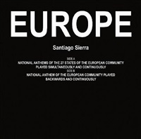 europe by santiago sierra