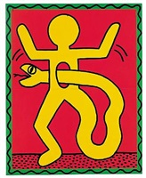 untitled, october 7. 1982 by keith haring