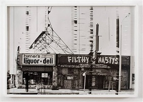 filthy mcnasty's, 1976 by ed ruscha