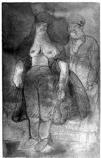el matrimonio de los arnolfini by josé luis cuevas