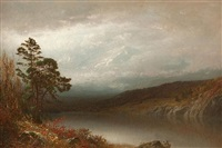 autumn in the adirondacks by alexander helwig wyant