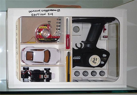 nutsy's deluxe racing set by tom sachs