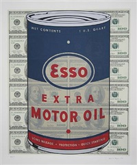 esso oil can by steven gagnon