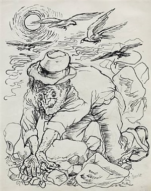 case of convict by george grosz