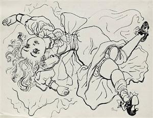silk doll by george grosz