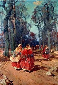 walk (sold) by stepan feodorovich kolesnikov