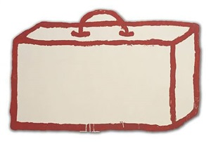 suitcase by donald baechler