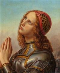 joan of arc by hermann anton stilke