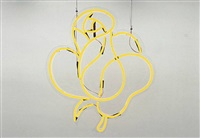 untitled (yellow rose) by cerith wyn evans