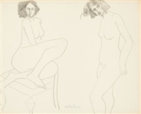 disturbed nude by milton avery