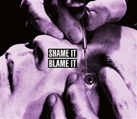 shame it blame it by barbara kruger