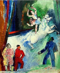 le cirque by jean dufy